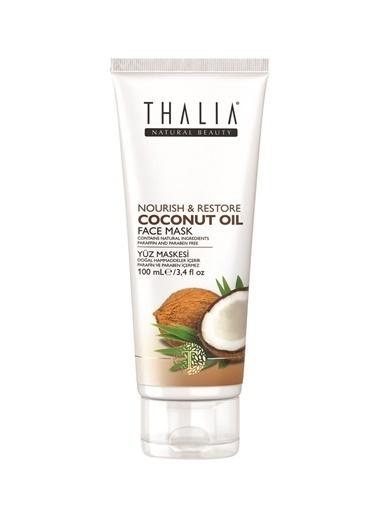 Thalia Thalia Extra Virgin Coconut Oil Nourish& Restore Face 175 ml Bakım Maskesi Renksiz